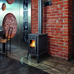 Kratki K10 Closed combustion fireplace