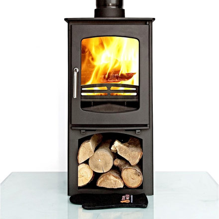 Ottawa Curve 10 KW with Log Stand eg2