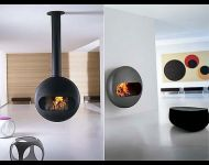 Antrax bubble fireplace