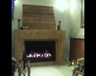 Built In Gas Fireplace